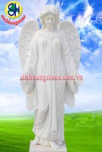 tượng thiên thần bằng đá