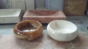 lavabo bằng đá
